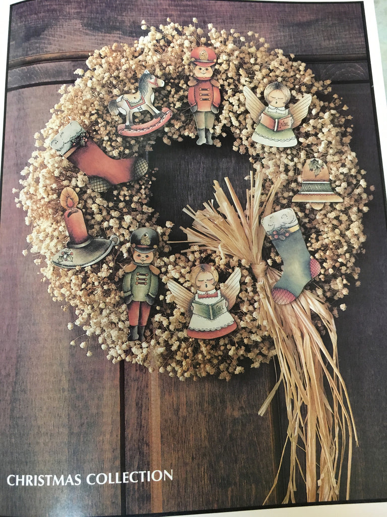 "Woodlet Wreaths Quick & Easy ""Ink'n Scrub"" Patterns By Corrine Severson"
