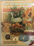 127(22) Just Plain Country Folk Art Painting for Beginners By Sandy Aubuchon