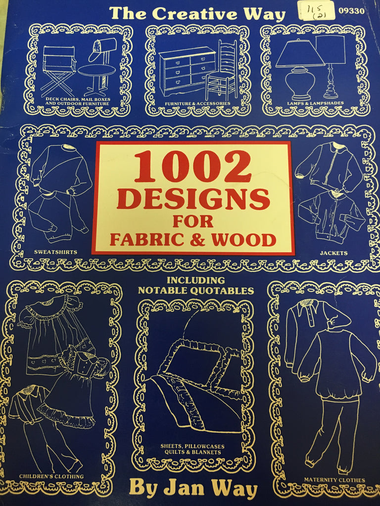 115(2) The Creative Way 1002 designs for fabric & wood By Jan Way