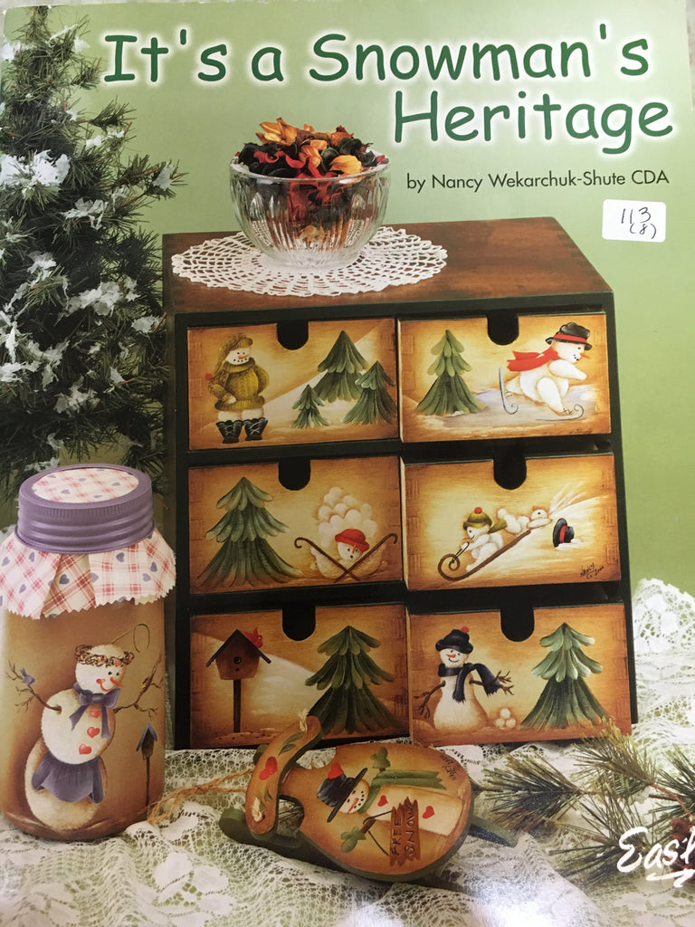 113(8) It's a Snowman's Heritage By Nancy Wekarchuk-Shute