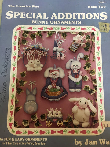 135(14) Special Additions Book 2 Bunny Ornaments by Jan Way