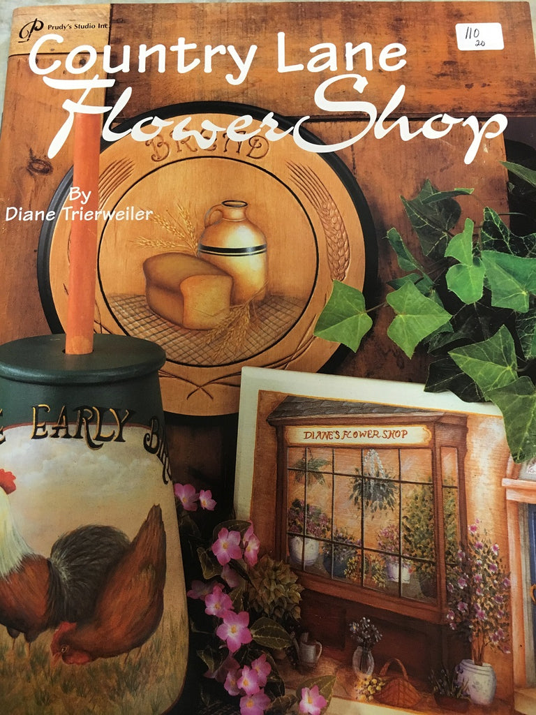 110(20) Country Lane Flower Shop by Diane Trierweiler