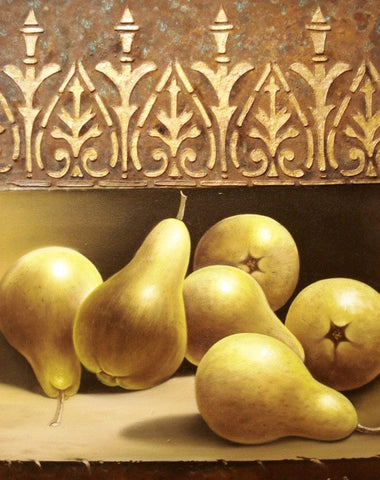 Pears with Oxide by Patricia de Torres