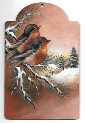 Winter Robins  e-packet by Sharon Shannon