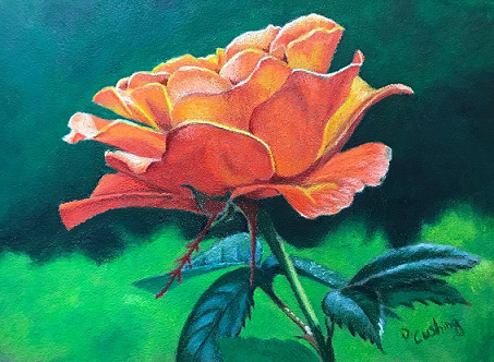 Orange Delight Online Class by Debbie Cushing