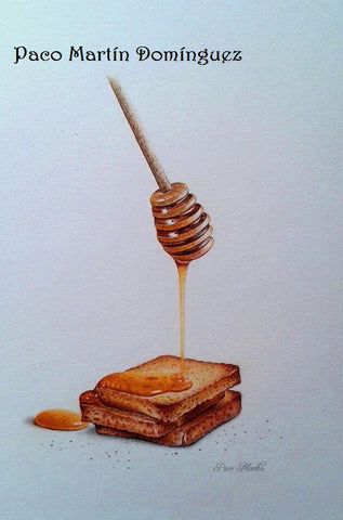 Toasts with Honey e-packet by Paco Martin Dominguez