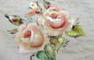 Painting with Fabric Online Class by Marjorie Harris Clark