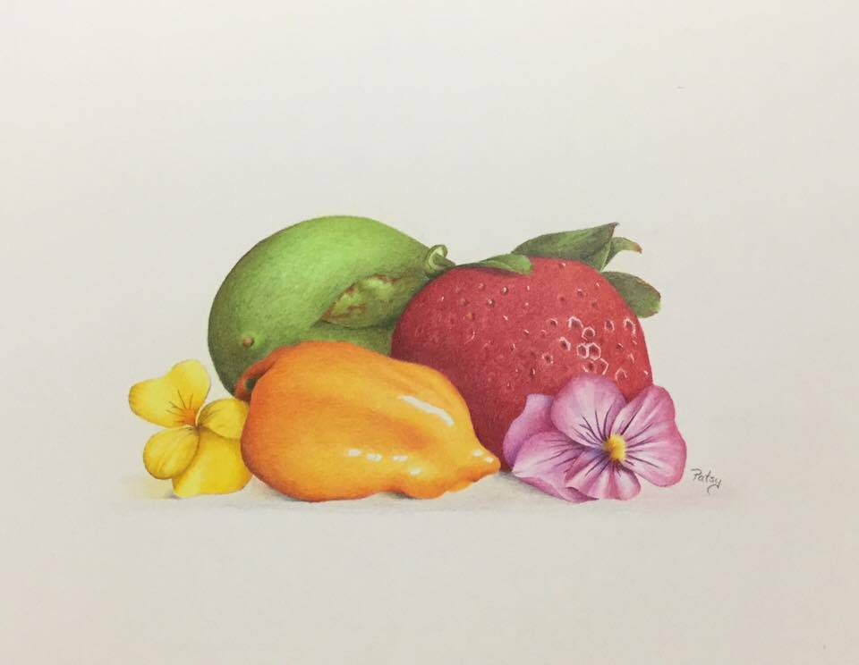 Market Fresh by Patsy Deal Colored Pencils e-packet