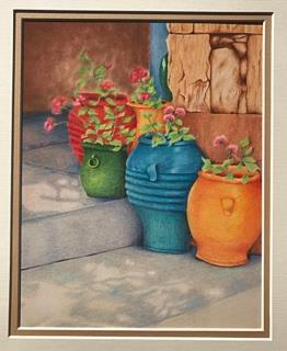 The Portico by Patsy Deal Colored Pencils e-packet