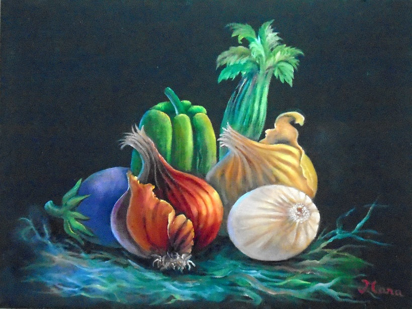 Ratatouille Ingredients Oils Online Class by Mara Trumbo