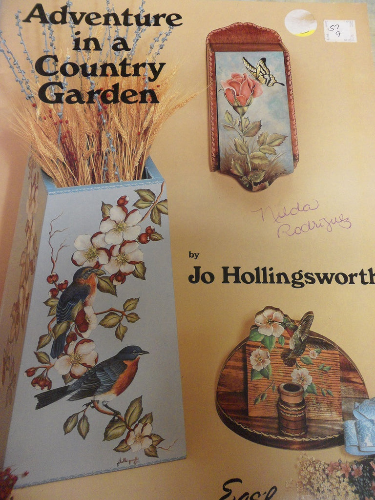57(9) Adventure in a Country Garden by Jo Hollingsworth