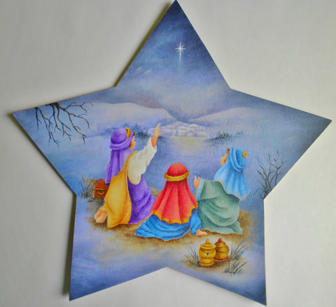 Three Little Wisemen Tree Topper and Ornaments e-packet by Sharon Shannon