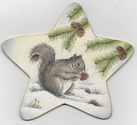 Squirrel & Bunny acrylics electronic pattern by Donna Hoson
