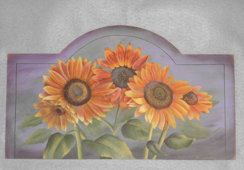 Sunflower Dance Acrylics e-packet by Barbara Bunsey