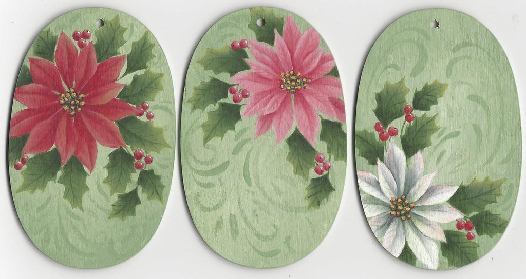 Three Poinsettias by Donna Hodson E-packet