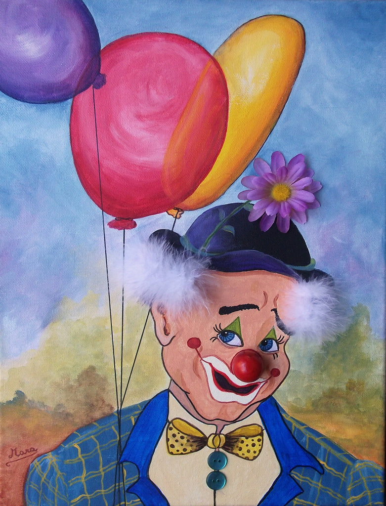 Toby the Clown by Mara Trumbo