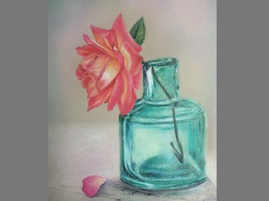 Transparency Colored Pencils Online Class by Miyuki Nakano