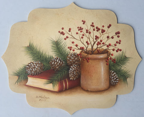 Twigs, Berries, & Pine e-Packet by Donna Hodson