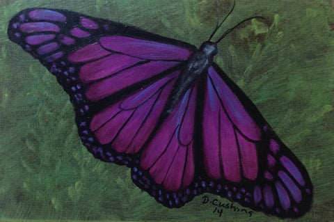 Violet Butterfly e-Packet by Debbie Cushing