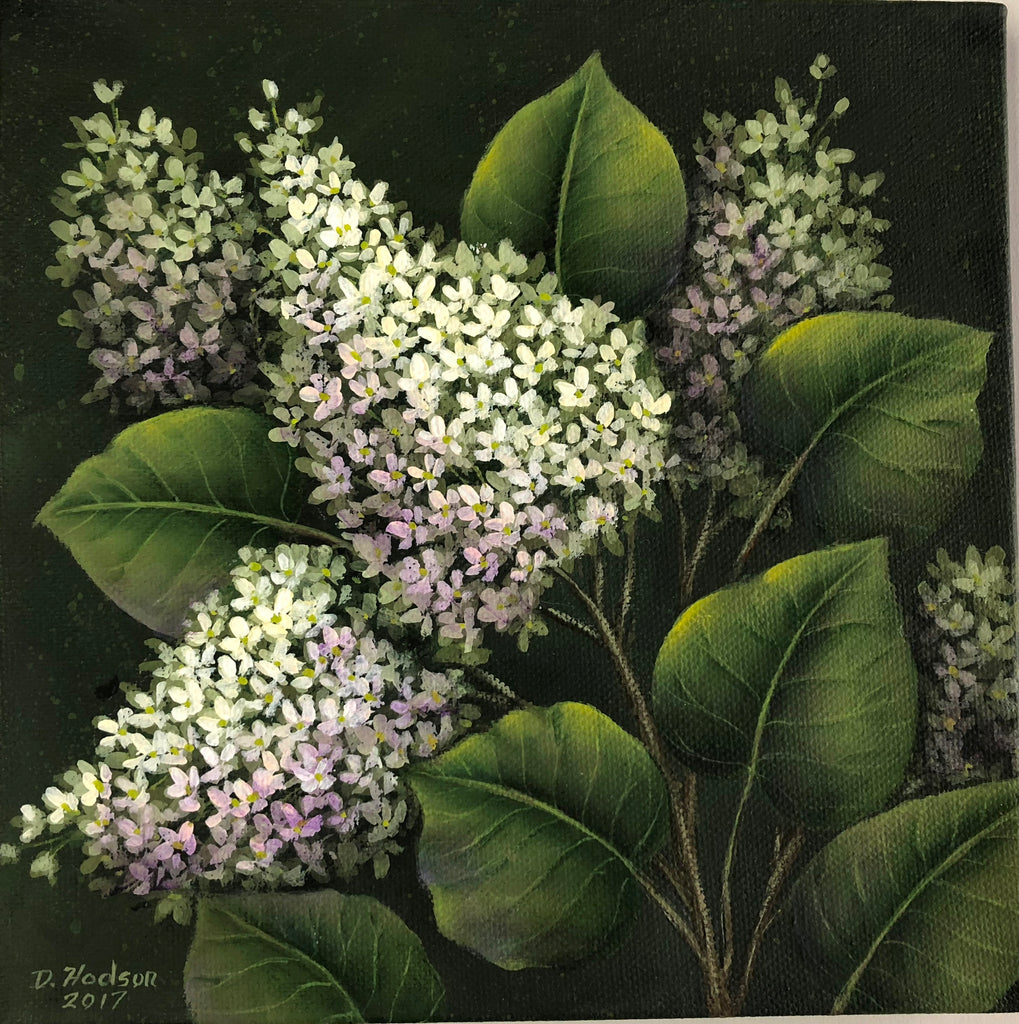 White Lilacs by Donna Hodson E-packet