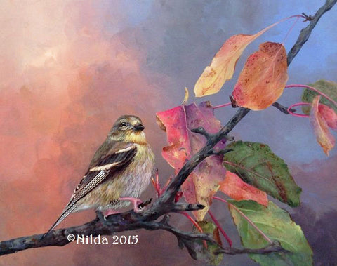 Autumn Comes Softly Online Class by Nilda