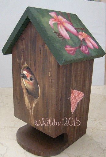 Lucy's Birdhouse Soap Dispenser e-Packet