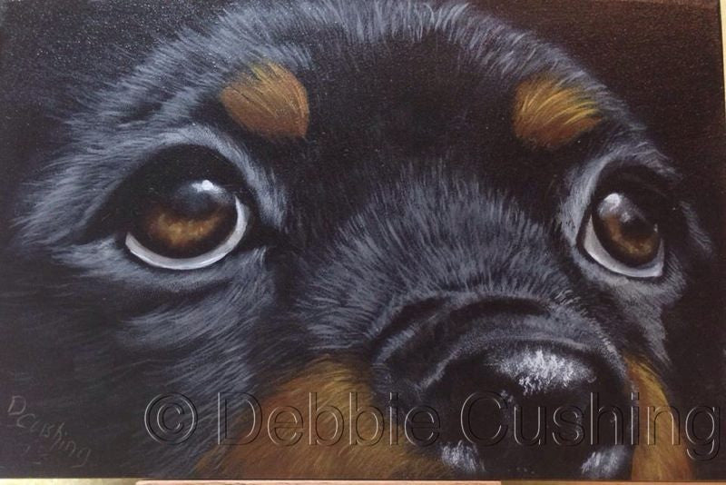 Brutus Acrylics e-Packet by Debbie Cushing