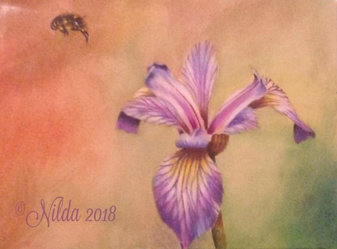 Celebrate Spring Online Class by Nilda Rosa Rodriguez