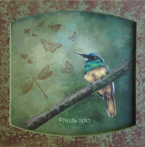 Nature's Winged Beauties Online Class by Nilda