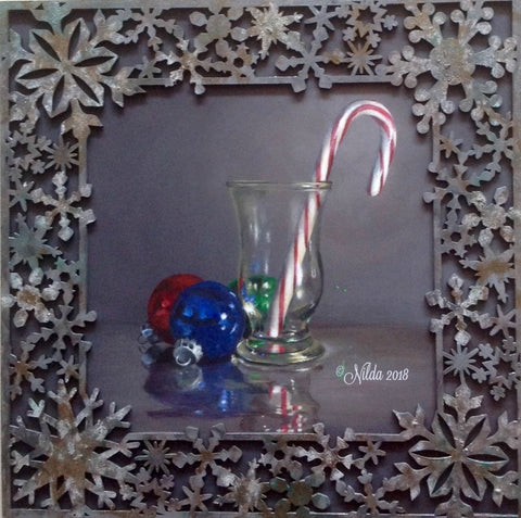 A Candy Cane Christmas Acrylics e-packet by Nilda