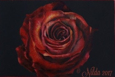 From My Heart Colored Pencils Online Class by Nilda