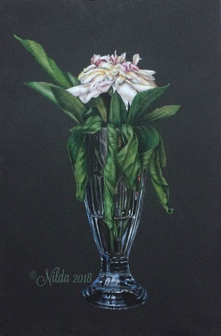 Glass Elegance Colored Pencils Online Class by Nilda