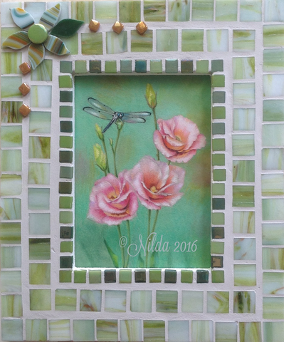 In the Garden Colored Pencils Online Class by Nilda