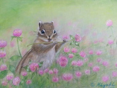 Letter from Spring Colored Pencils Online Class by Miyuki Nakano