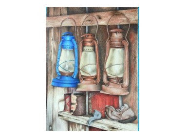 Light the Way by Patsy Deal Colored Pencils e-packet