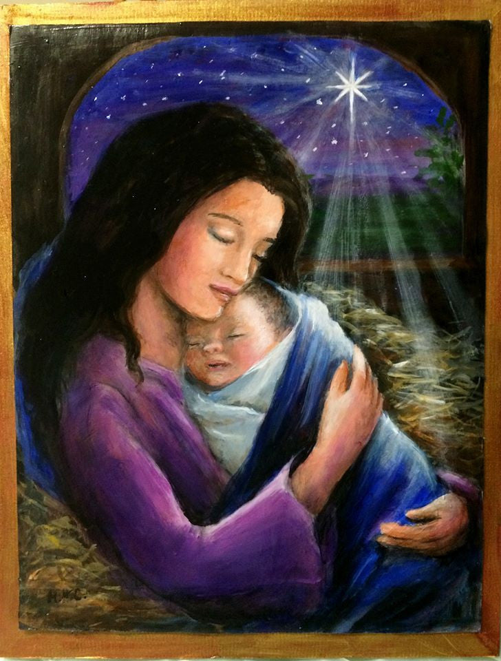 Madonna and Child Online Class by Marjorie Harris Clark