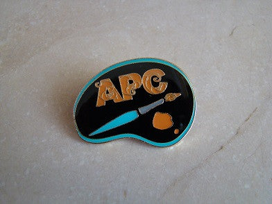 Acrylic Painting Club Pin