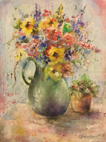 Mini Floral Online Class by Ursula Wollenberg