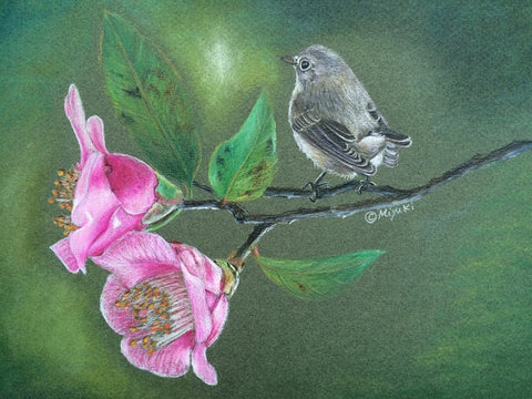 Think of Spring Colored Pencils Online Class by Miyuki Nakano