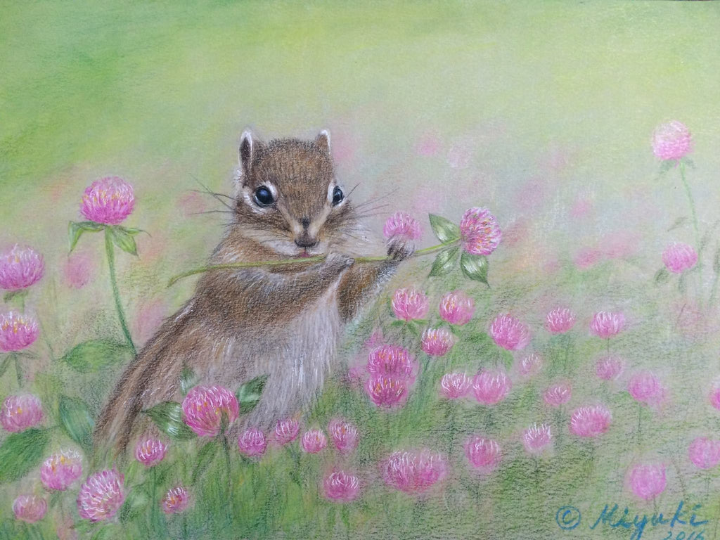 Letter from Spring by Miyuki Nakano Colored Pencils E-packet
