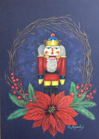 My Seasonal Treasure by Miyuki Nakano Colored Pencils E-packet