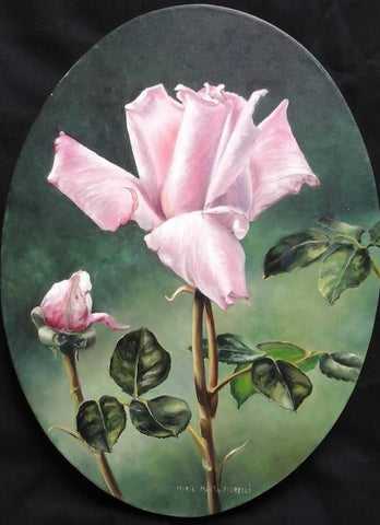 Rose Bud Online Class by Maria Marta Morelli