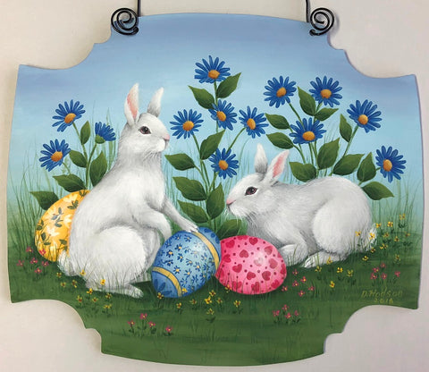 Easter Bunnies by Donna Hodson Acrylics Epacket