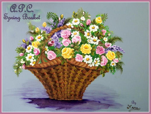 Spring Basket Online Class by Mara Trumbo