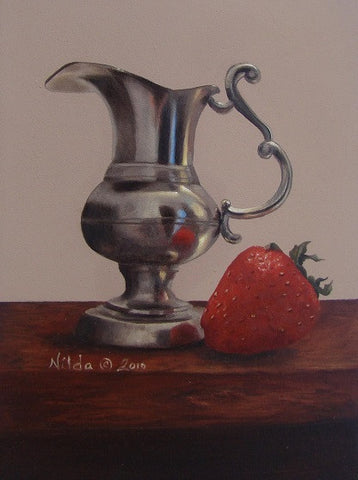 Strawberry and Cream Online Class by Nilda