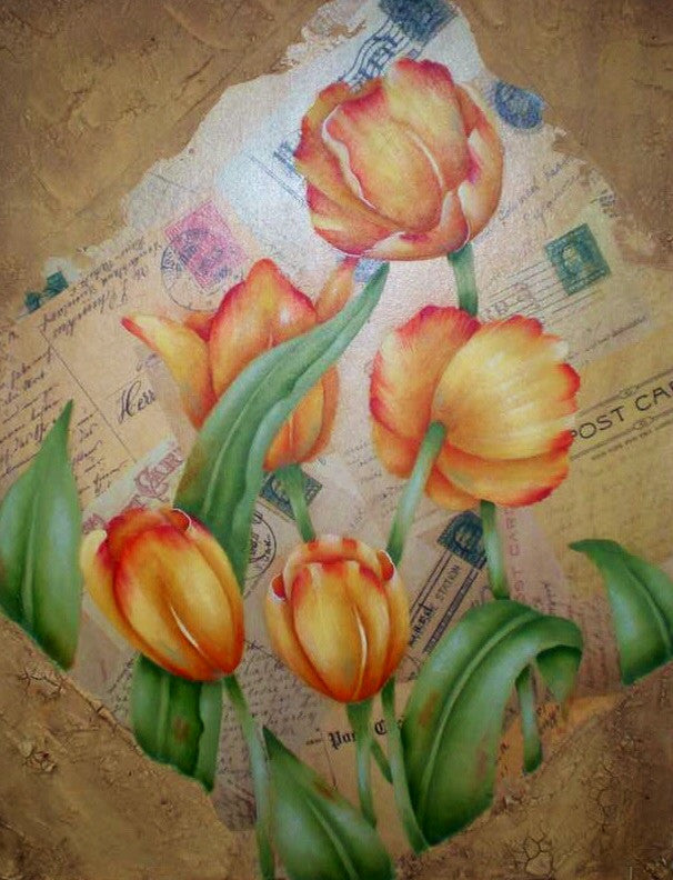 Tulip Memories by Judy Ribitch