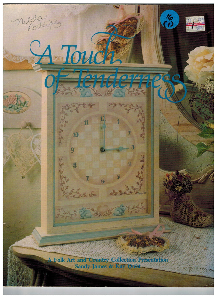 A touch of Tenderness Book