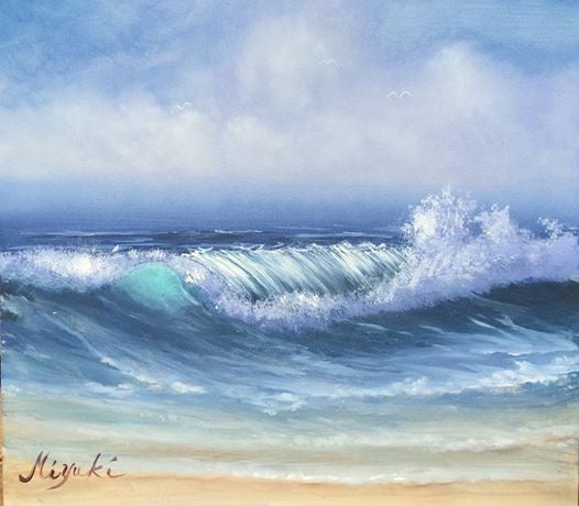 Wave Lesson in Acrylics E-packet by Miyuki Nakano