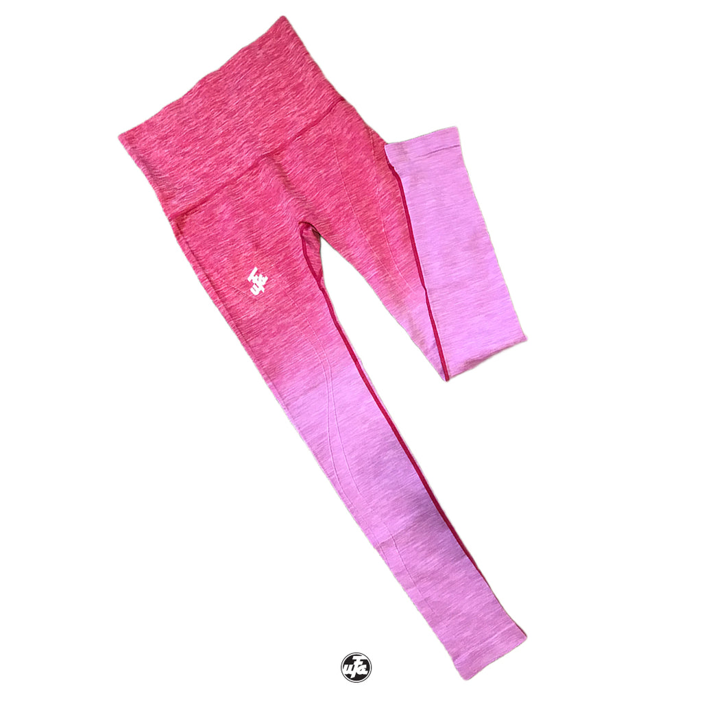 Ombre Leggings (Pink)