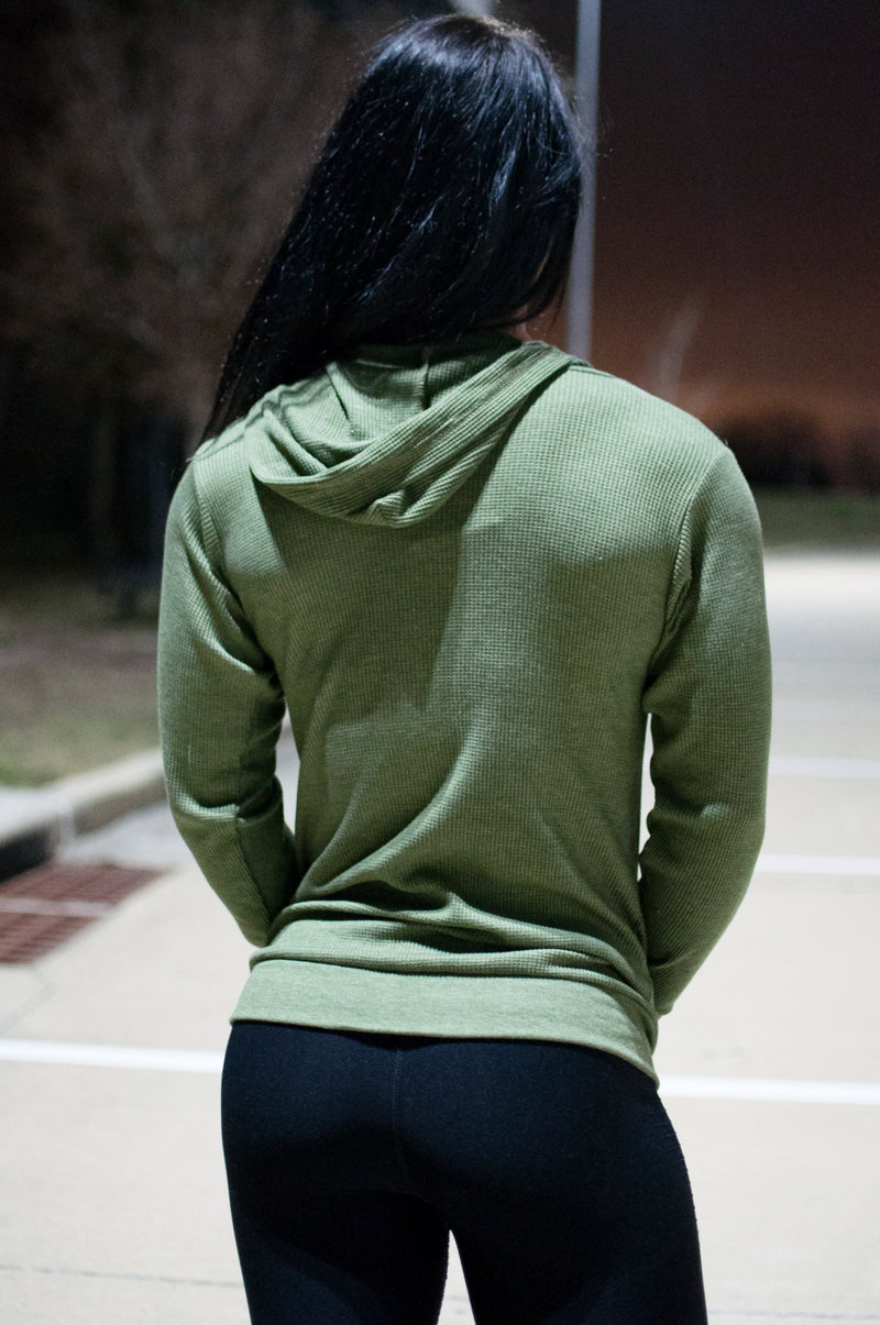 Thermal Zip-up Hoodie